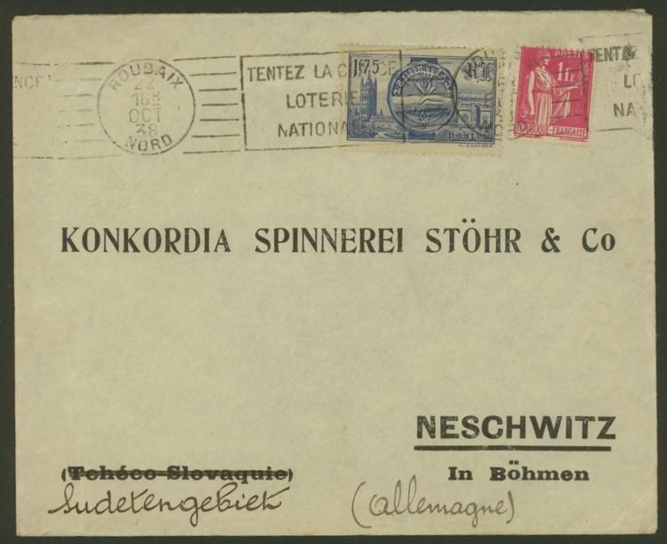 Briefe aus Frankreich   /   1930 - Kriegsbeginn F_910