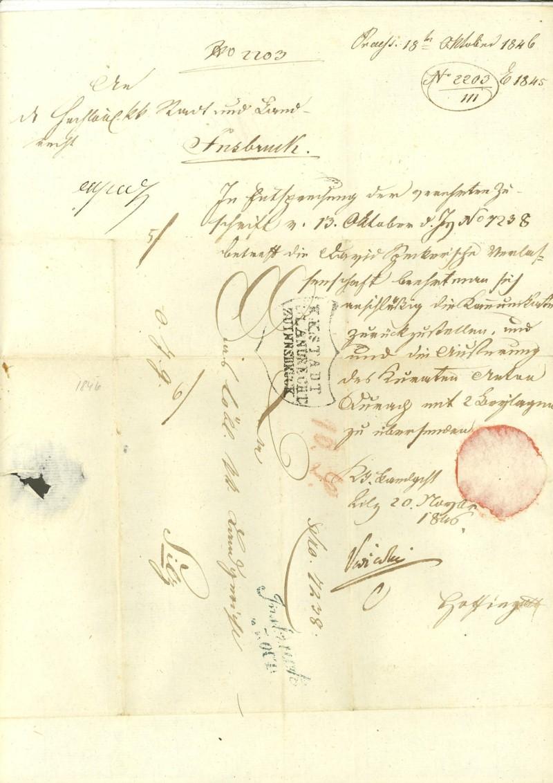 Nachtrag - Vorphilatelie Österreich  -   Briefe aus der Vormarkenzeit Innsbr10