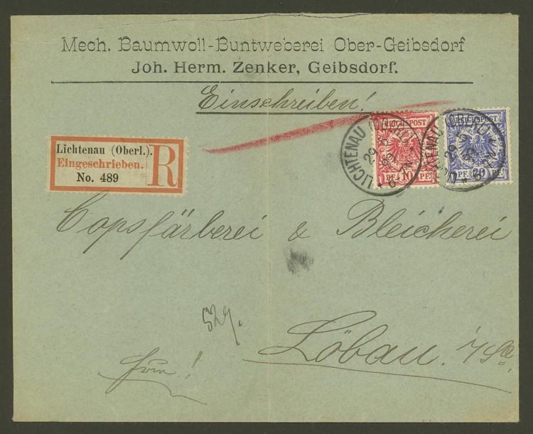 Deutsches Reich  -  Schöne Briefe Lichte10