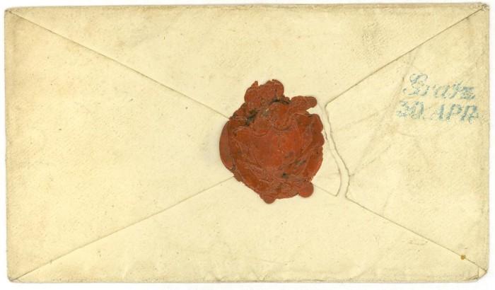 Vorphilatelie Österreich  -   Briefe aus der Vormarkenzeit Limbur12