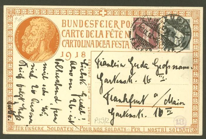 schweiz - Bundesfeierkarten P_59_211