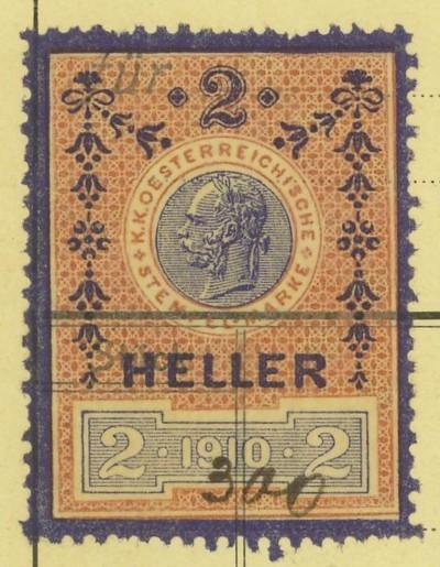 Die Verwendung von Fiskalmarken in Österreich Rechnu11