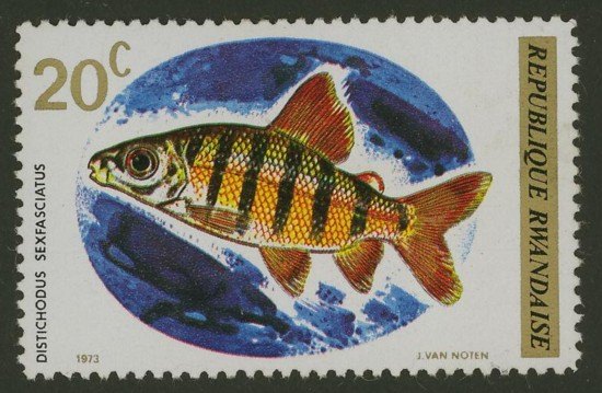 Liechtenstein - Fische Ruanda14