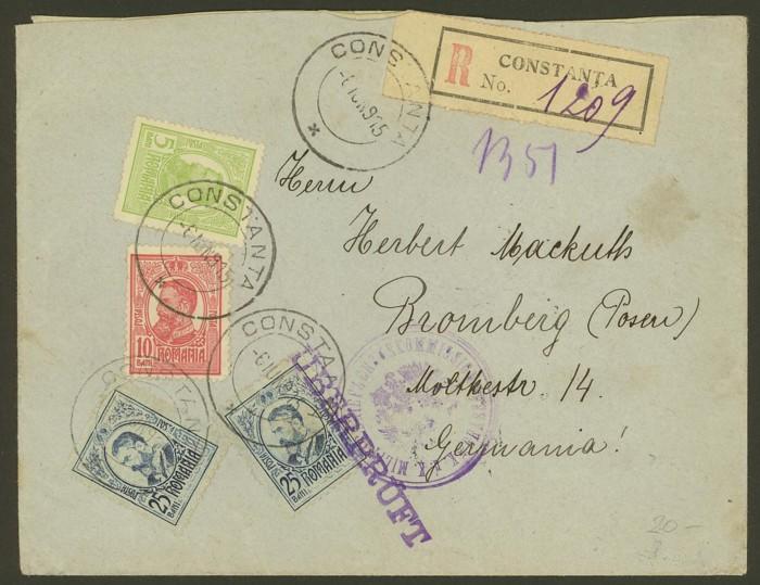 Rumänien  -  Briefpost im 1. Weltkrieg Rumani10