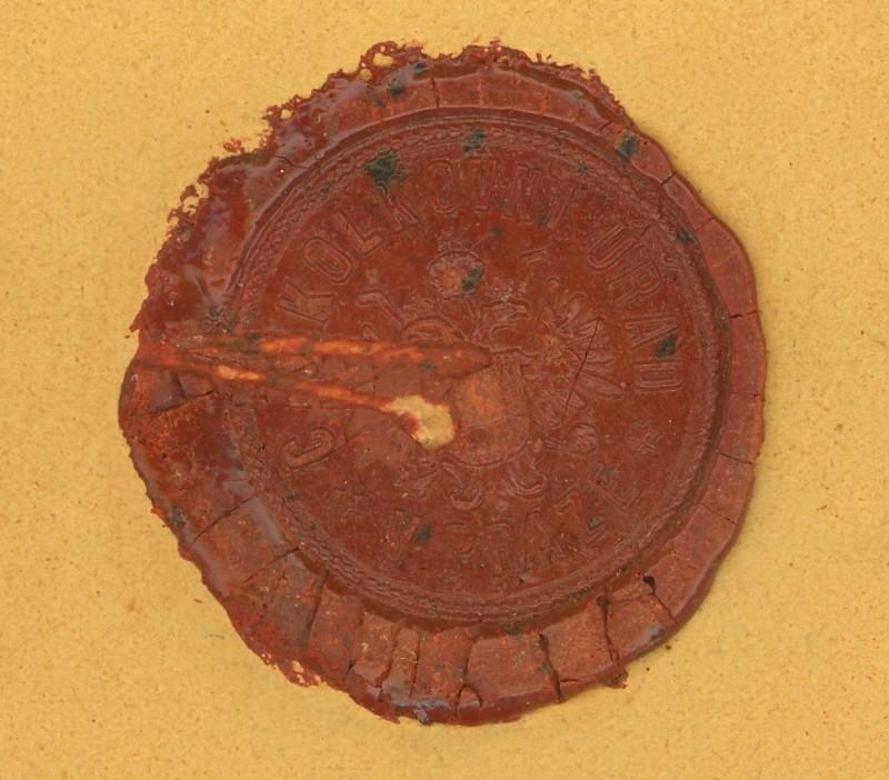 Die Verwendung von Fiskalmarken in Österreich Siegel10