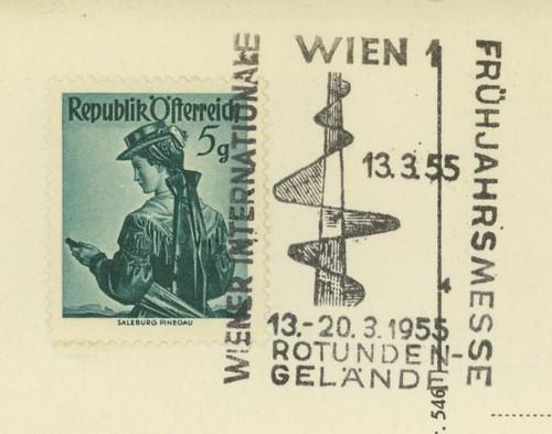 Sonderstempel der Wiener Messe Stpl_w14