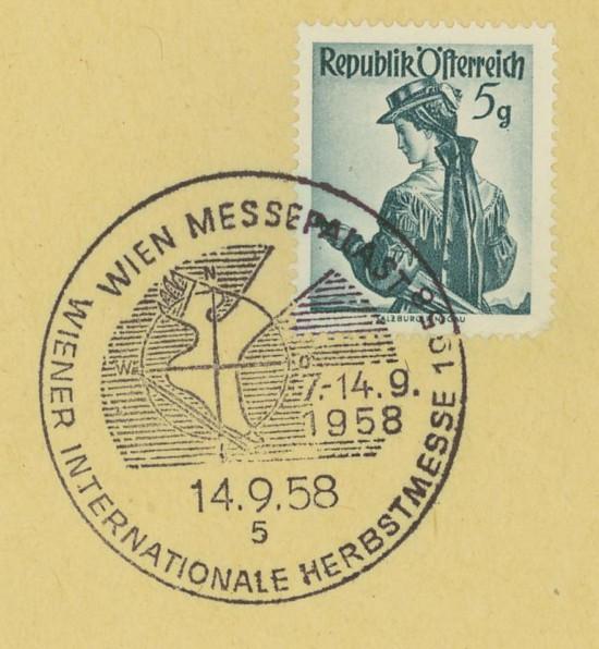 Sonderstempel der Wiener Messe Stpl_w18