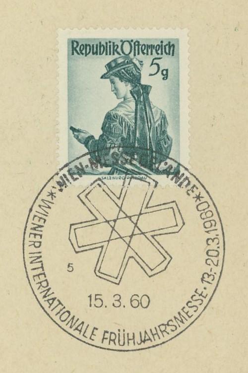 Sonderstempel der Wiener Messe Stpl_w20