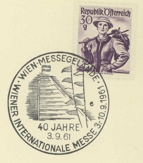 Sonderstempel der Wiener Messe Stpl_w23