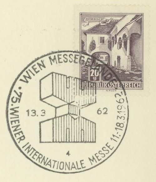 Sonderstempel der Wiener Messe Stpl_w24