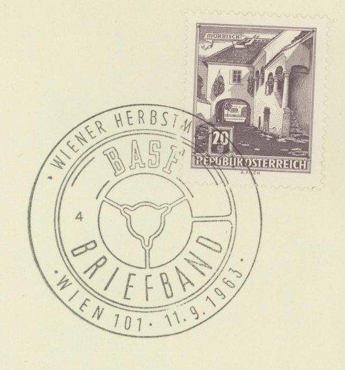 Sonderstempel der Wiener Messe Stpl_w26