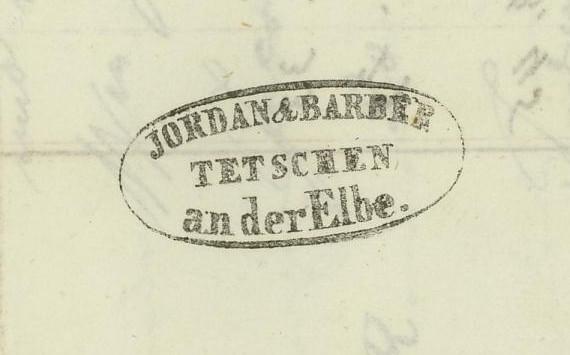 Vorphilatelie Österreich  -   Briefe aus der Vormarkenzeit Tetsch12