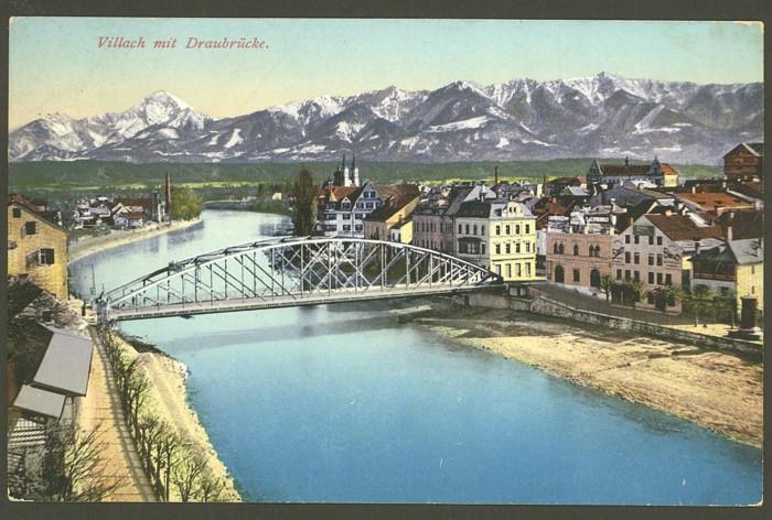 Österreich  -  Alte Ansichtskarten Villac10