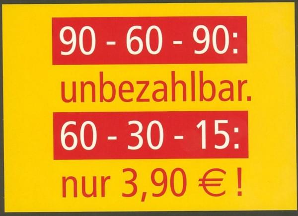 Moderne Werbekarten Wertbe17
