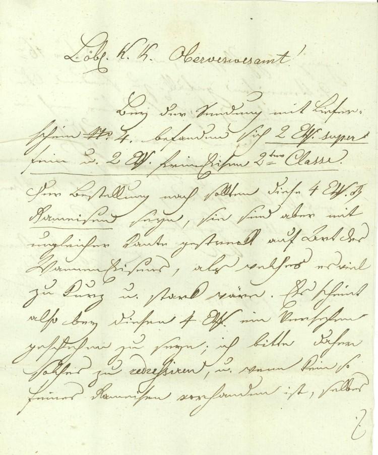 Vorphilatelie Österreich  -   Briefe aus der Vormarkenzeit Wien-n12