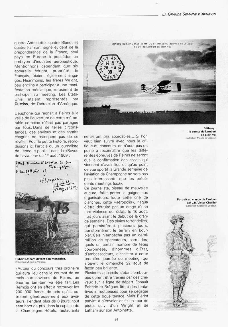 La Grande Semaine d'Aviation - Du 22 au 29 Août 1909 06-pag10