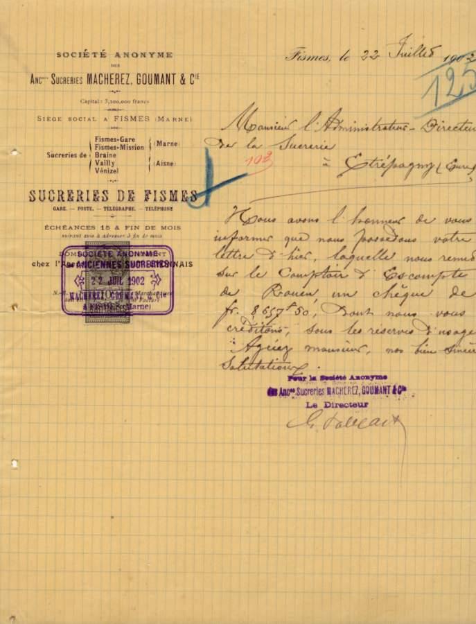 Les Entreprises - Les Sucreries 1902_j10