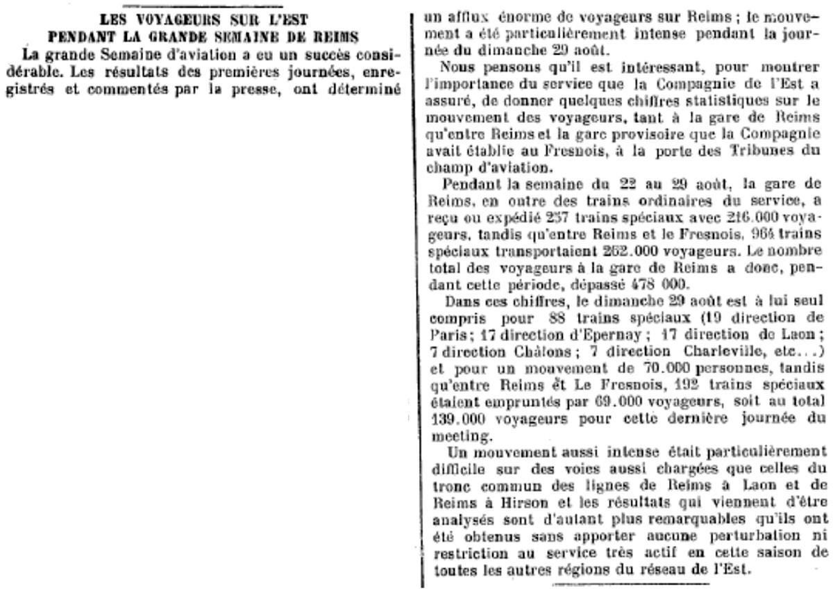 La Grande Semaine d'Aviation - Du 22 au 29 Août 1909 1909_n11