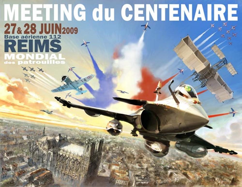 Aéropolis & le Meeting du Centenaire - REIMS 2009 Affich10