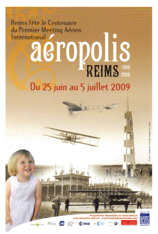 Aéropolis & le Meeting du Centenaire - REIMS 2009 Carte_12