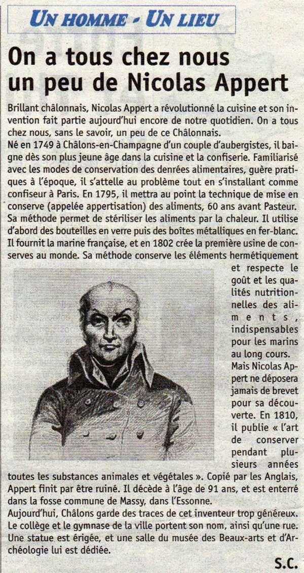 """Nicolas APPERT, """"inventeur"""" de la Boite de Conserve L_unio11"""
