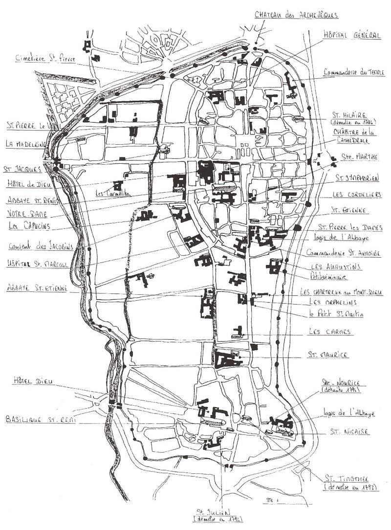 Plans de la Ville Numar102