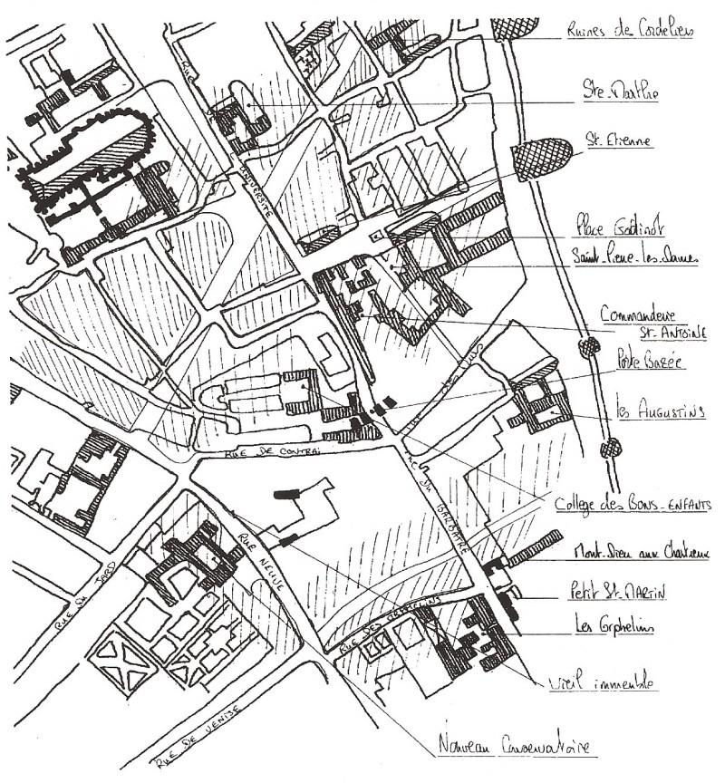 Plans de la Ville Numar124