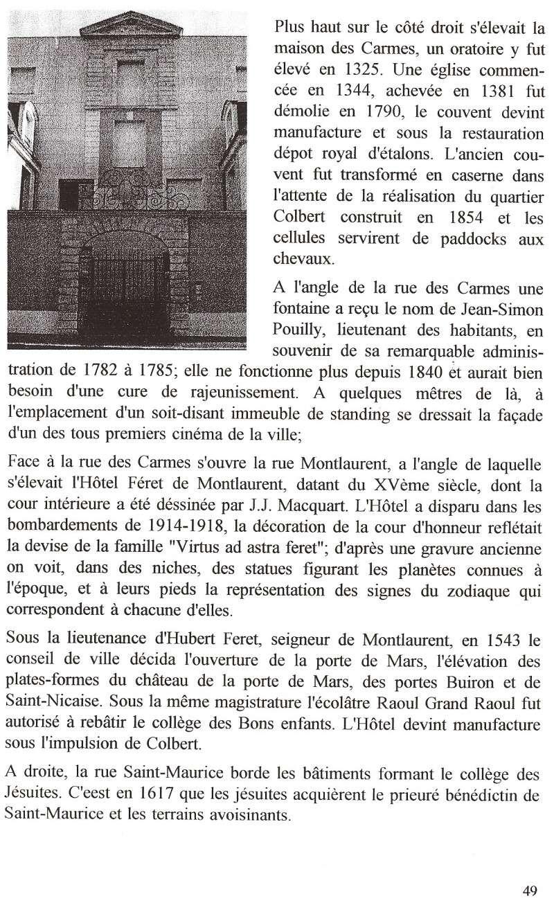 Plans de la Ville Numar127