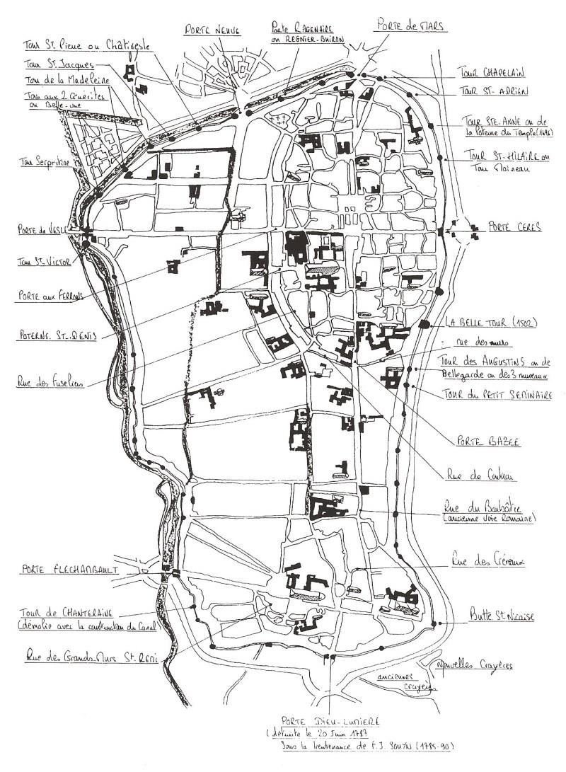 Plans de la Ville Numari92