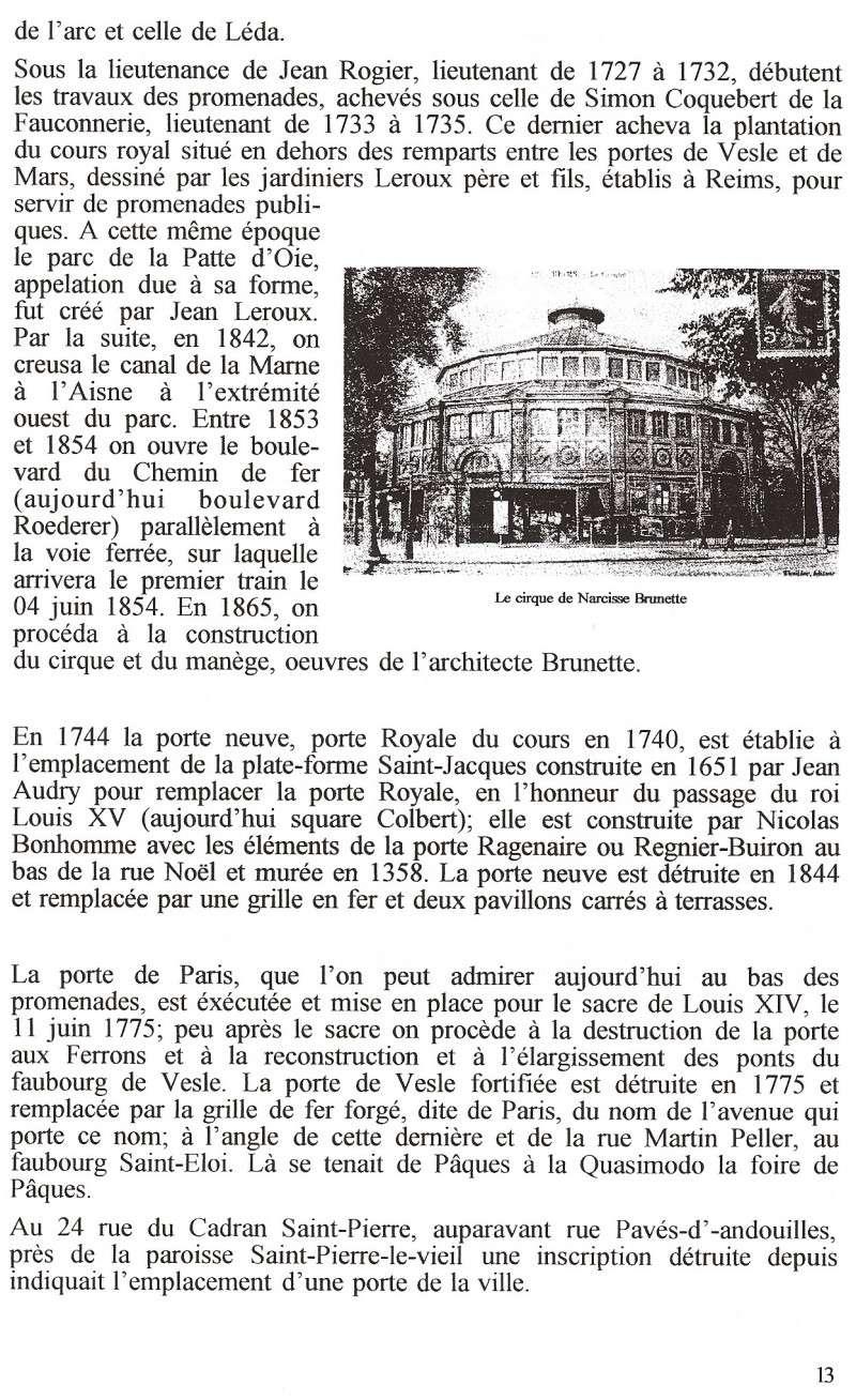 Plans de la Ville Numari95