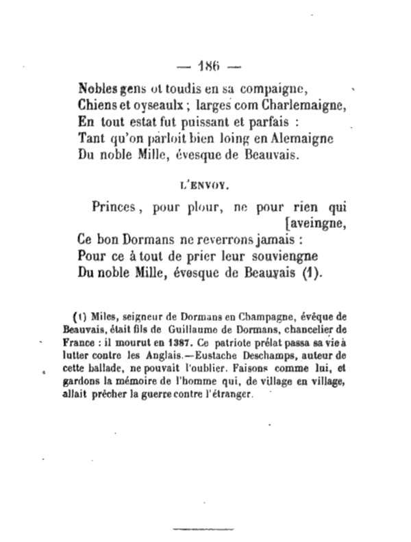Ballades d'Eustache DESCHAMPS Pa18610