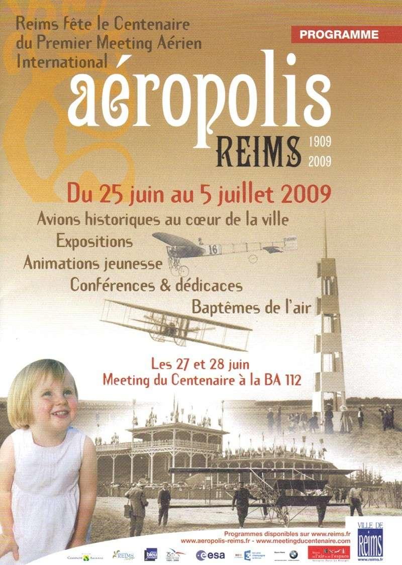 Aéropolis & le Meeting du Centenaire - REIMS 2009 Progra10