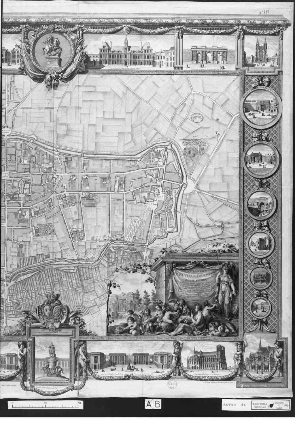 Plans de la Ville Rheims13