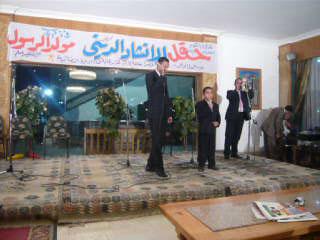 نظمت إدارة العلاقات العامة حفل الإنشاد الديني P1040711