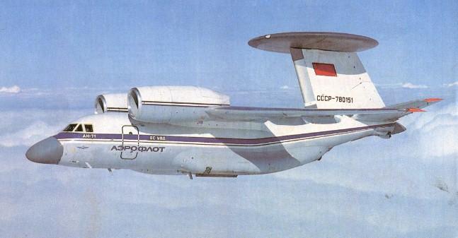 Les Avions-Radars (Awacs...) sur Google Earth - Page 3 An-71m10