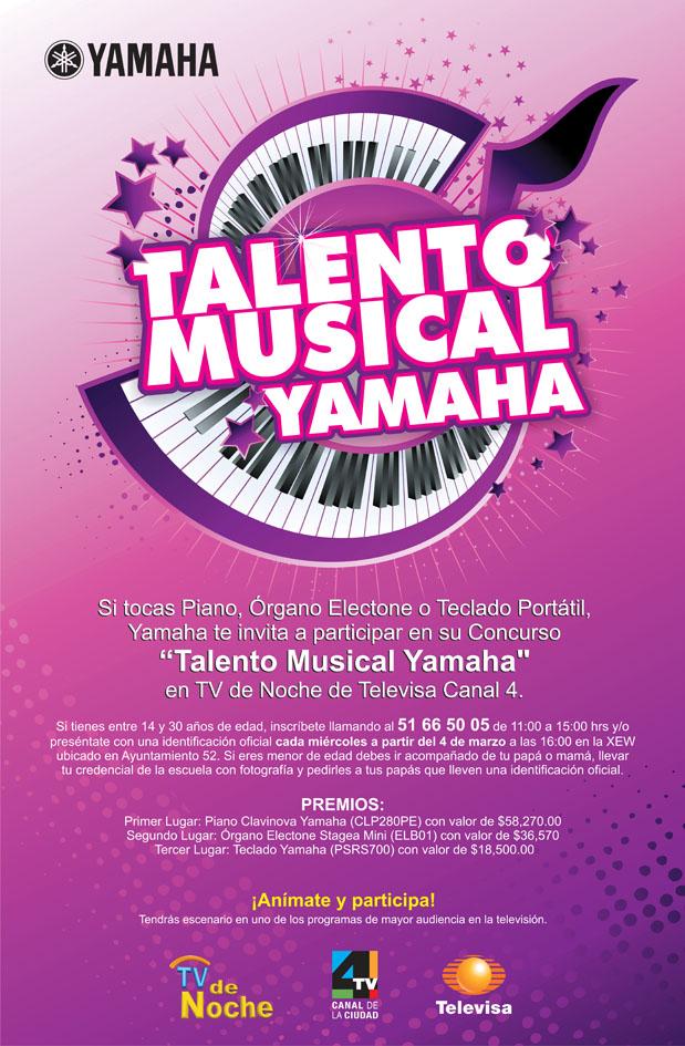 TALENTO MUSICAL YAMAHA Talent10