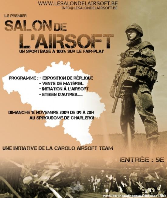 1er salon de l'airsoft belge Affich10
