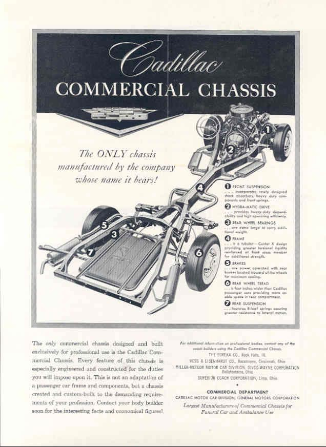 Réplique Ecto-1 sur differante carosserie commercial  Cadill 1959ca10