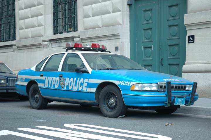 Mon projet NYPD car ! Police10