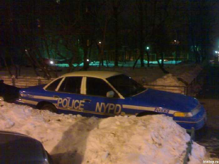 Mon projet NYPD car ! Police11
