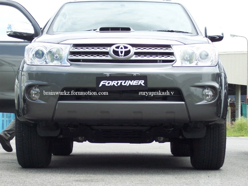Toyota Fortuner launching on 24th August 100_6417