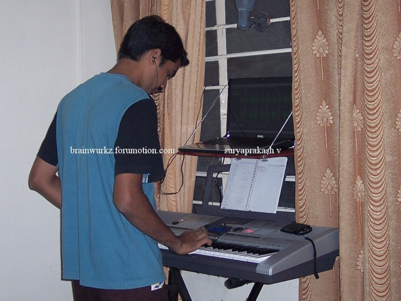 Me & my Yamaha PSR I-425 100_6510