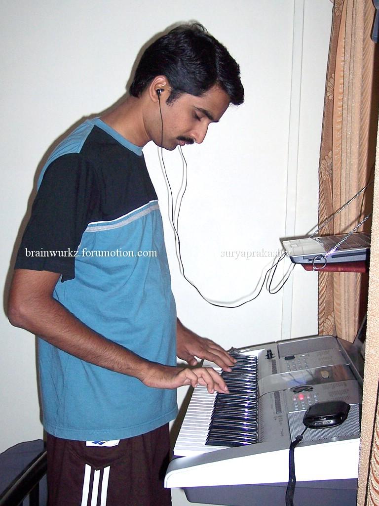 Me & my Yamaha PSR I-425 100_6511