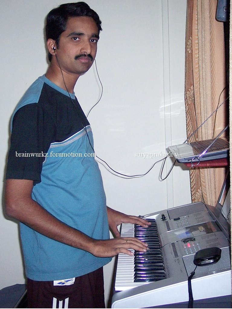 Me & my Yamaha PSR I-425 100_6512