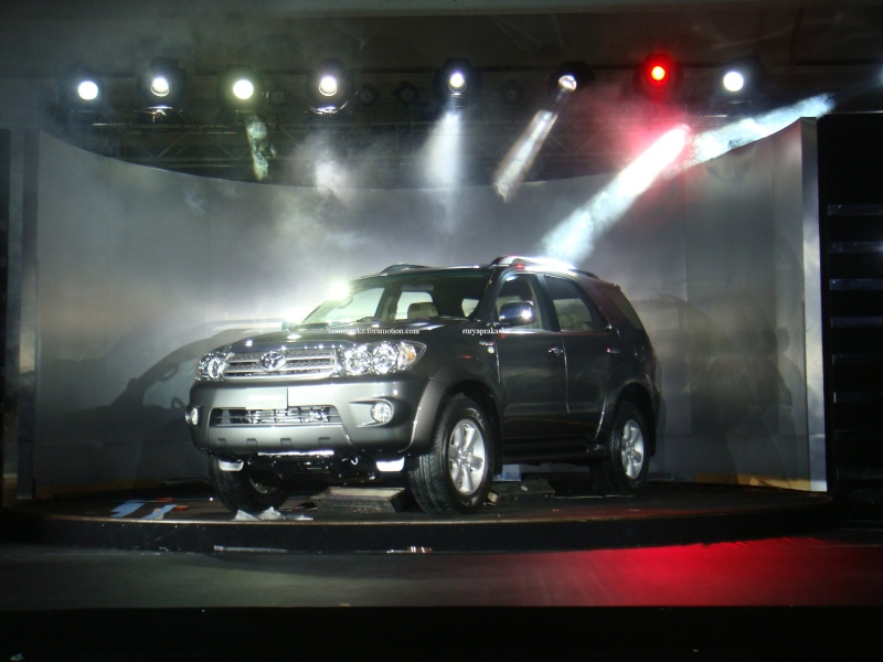Toyota Fortuner launching on 24th August Dsc04310