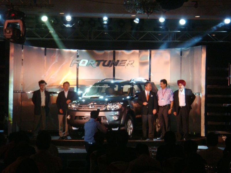 Toyota Fortuner launching on 24th August Dsc04410