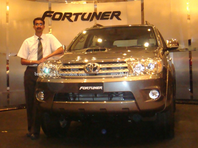 Toyota Fortuner launching on 24th August Dsc04510
