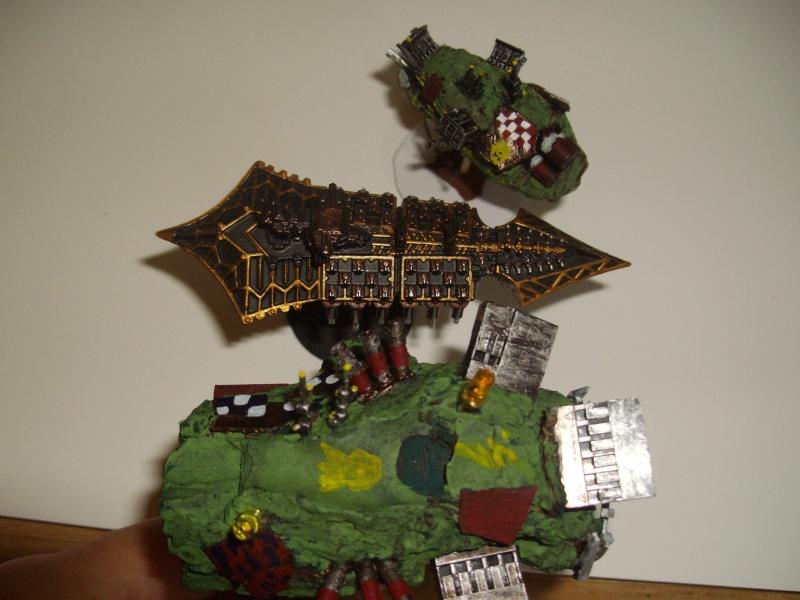 Vaisseaux Orks fait maison Imgp1610