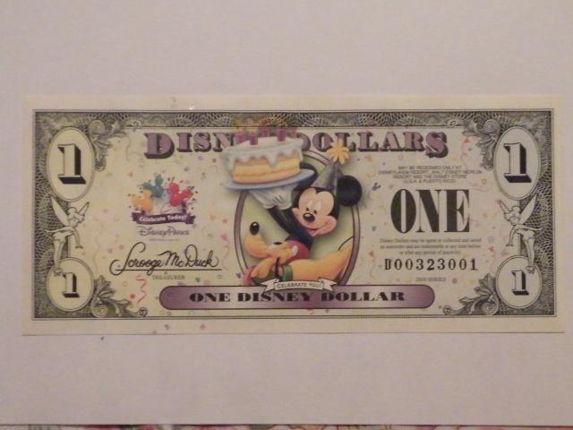 LES DISNEY DOLLARS Dscf3311