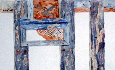 Fragment d'un vieux portail. Sitdri10